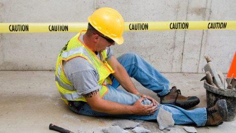 ¿Cuales son lo accidente mas comunes en el trabajo?