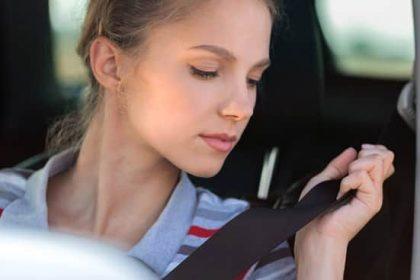 Lesiones ocasionadas por el cinturon de seguridad en un accidente de autos
