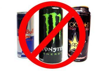 Bebidas energeticas malas