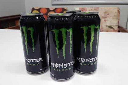 Descubra los peligros de beber monster