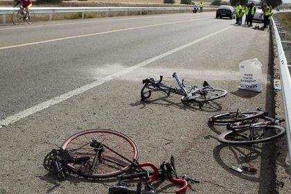 Accidentes ciclistas, tragicos sin proteccion