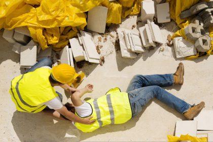 Tipos de accidentes comunes en la construccion
