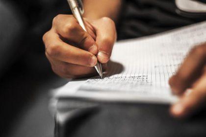 Tome notas despues de un accidente o lesion